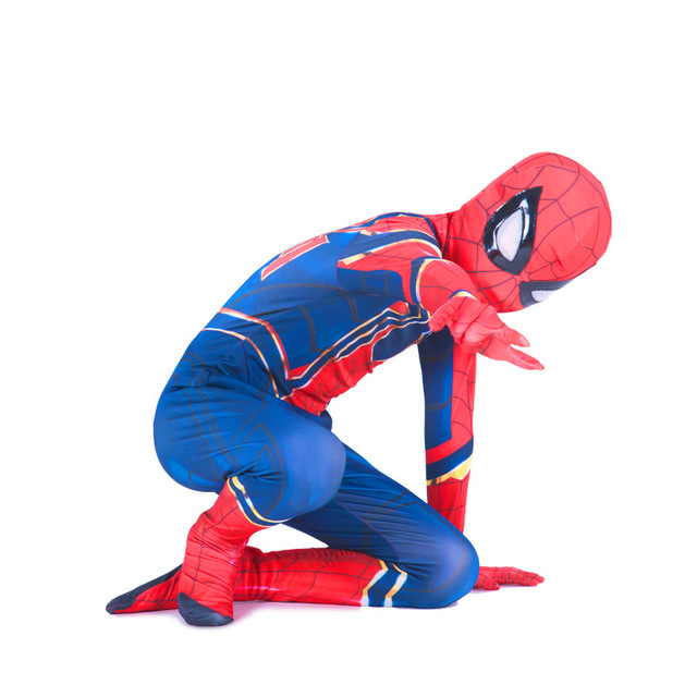 Halloween Iron Spiderman Avengers Infinity War Costume