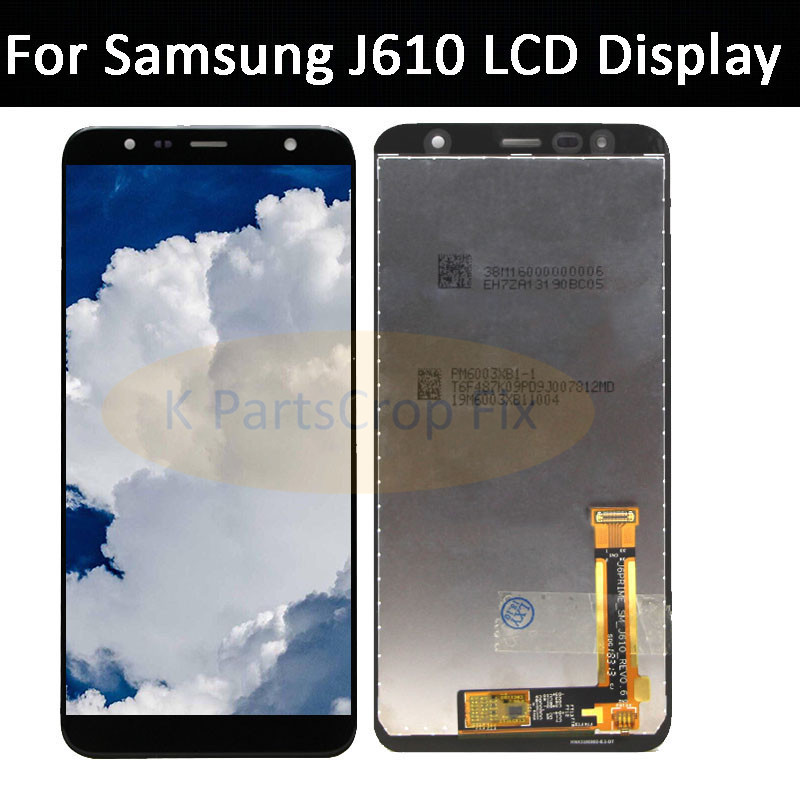 US $28 8 |For Samsung J6 Plus J610 LCD Display Screen with Touch Screen  Digitizer Assembly Replace 100% Tested For samsung J6+ lcd-in Mobile Phone