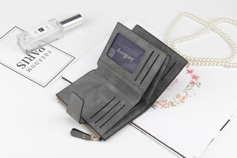 Подкладка Материал:: Полиэстер; фиолетовый кошелек; небольшой бумажник женщин; мужчины портмоне;
