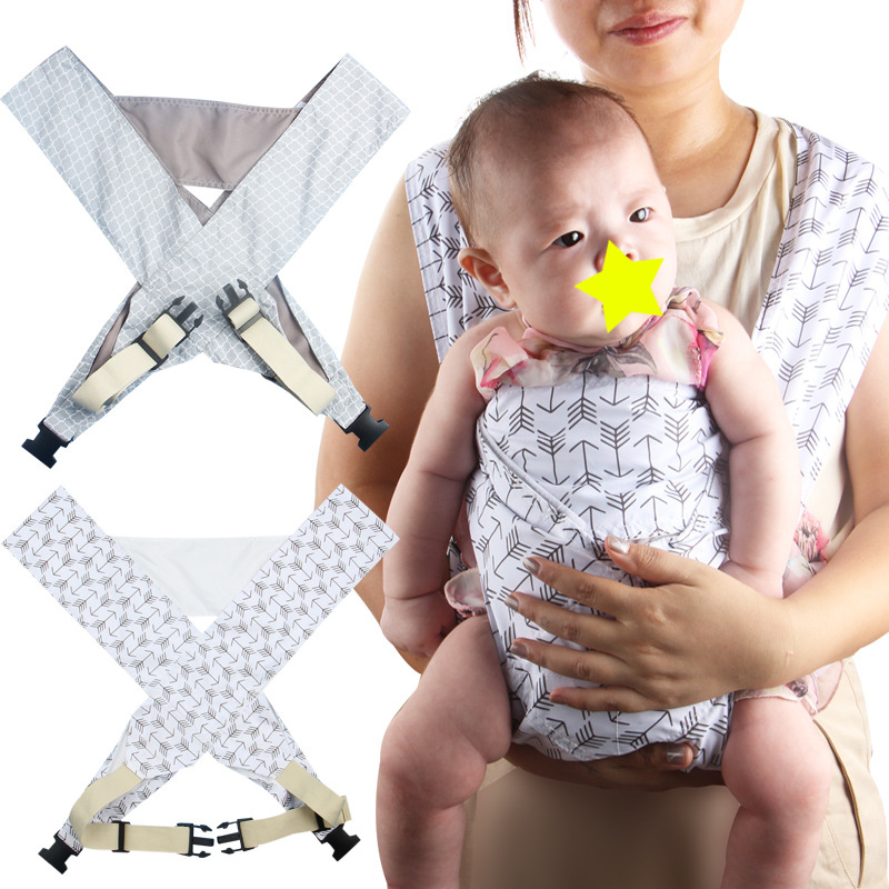 Baby Breathable Carrier, Newborn To Toddler Carrier, Ergonomic And Multiple Positions, Baby Sling Breastfeeding Wrap Backpack