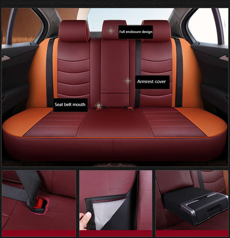 covers for vehicle seat (18)