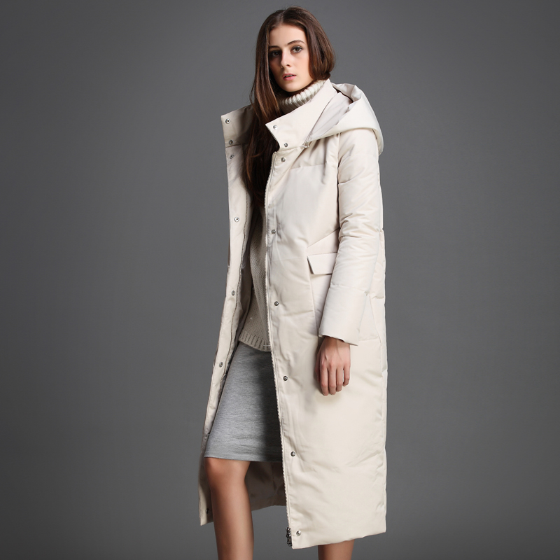 2015 new Hot winter Thicken Warm Woman Down jacket Coat Parkas Outerwear Hooded Leisure Luxury long Loose plus size 2XXL Cold 2015 new hot winter thicken warm woman down jacket coat parkas outwewear hooded loose brand luxury high end mid long plus size l