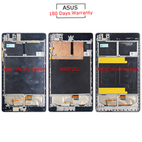 For Asus Google Nexus 7 ME571 ME571K ME571KL ME572 ME572CL New LCD Display Touch Screen Frame
