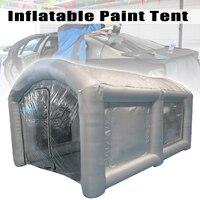 Открытый Портативный 4x2,2x2,5 м надувной распылитель палатки надувные краски стенд парковка палатка рабочая станция с воздуходувкой