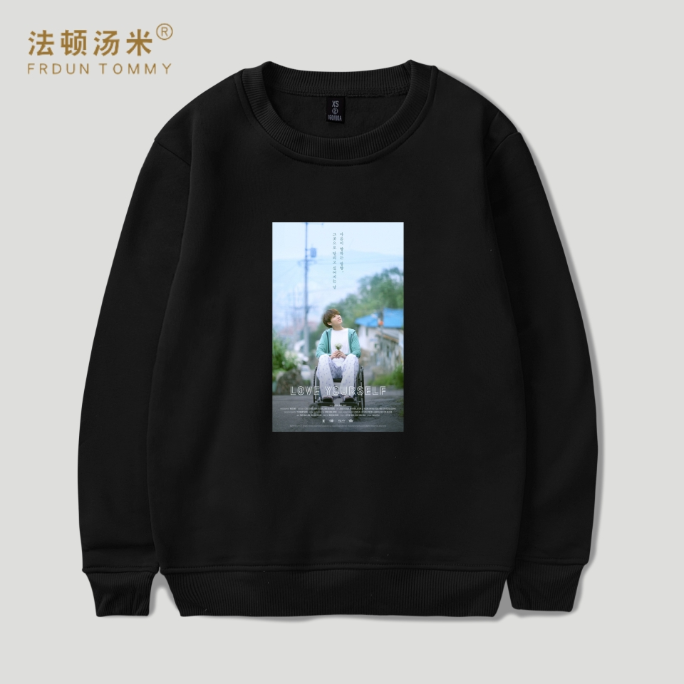 97f47f653313e Frdun Tommy BTS Cartoon Capless Harajuku Hoodies Women Autumn Pop Bangtan  Kpop Sweatshirt Women Hoodies Kawaii