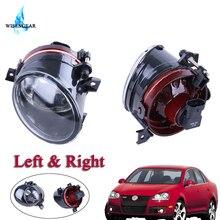 3,5 см левый и правый противотуманными фарами переднего бампера дальнего света тумана объектив для Volkswagen VW Jetta 5 Golf 5 GTI MK5 автомобильный аксессуар Foglight/