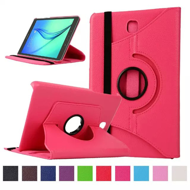 For Samsung Galaxy Tab A 8.0 inch T350 T351 T355 P350 SM-T355 SM-T350 SM-T351 Tablet Case Bracket Flip Stand Leather Cover hh xw dazzle impact hybrid armor kickstand hard tpu pc back case for samsung galaxy tab a 8 0 inch p350 p355c t350 t355 sm t355