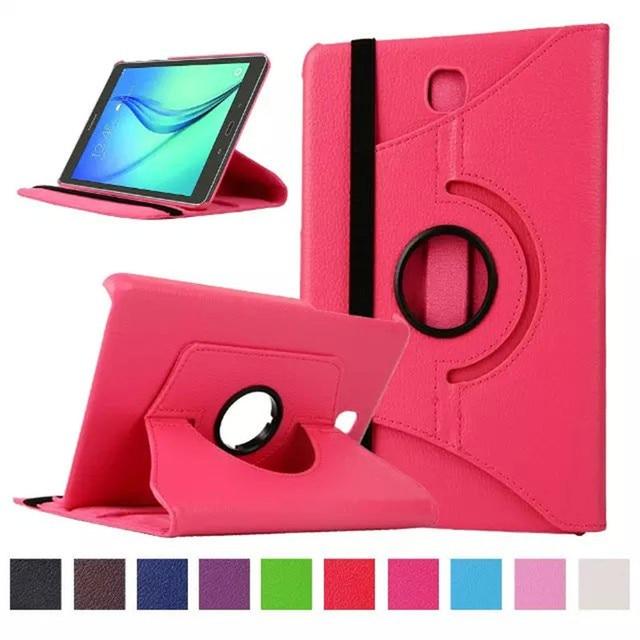 For Samsung Galaxy Tab A 8.0 inch T350 T351 T355 P350 SM-T355 SM-T350 SM-T351 Tablet Case Bracket Flip Stand Leather Cover