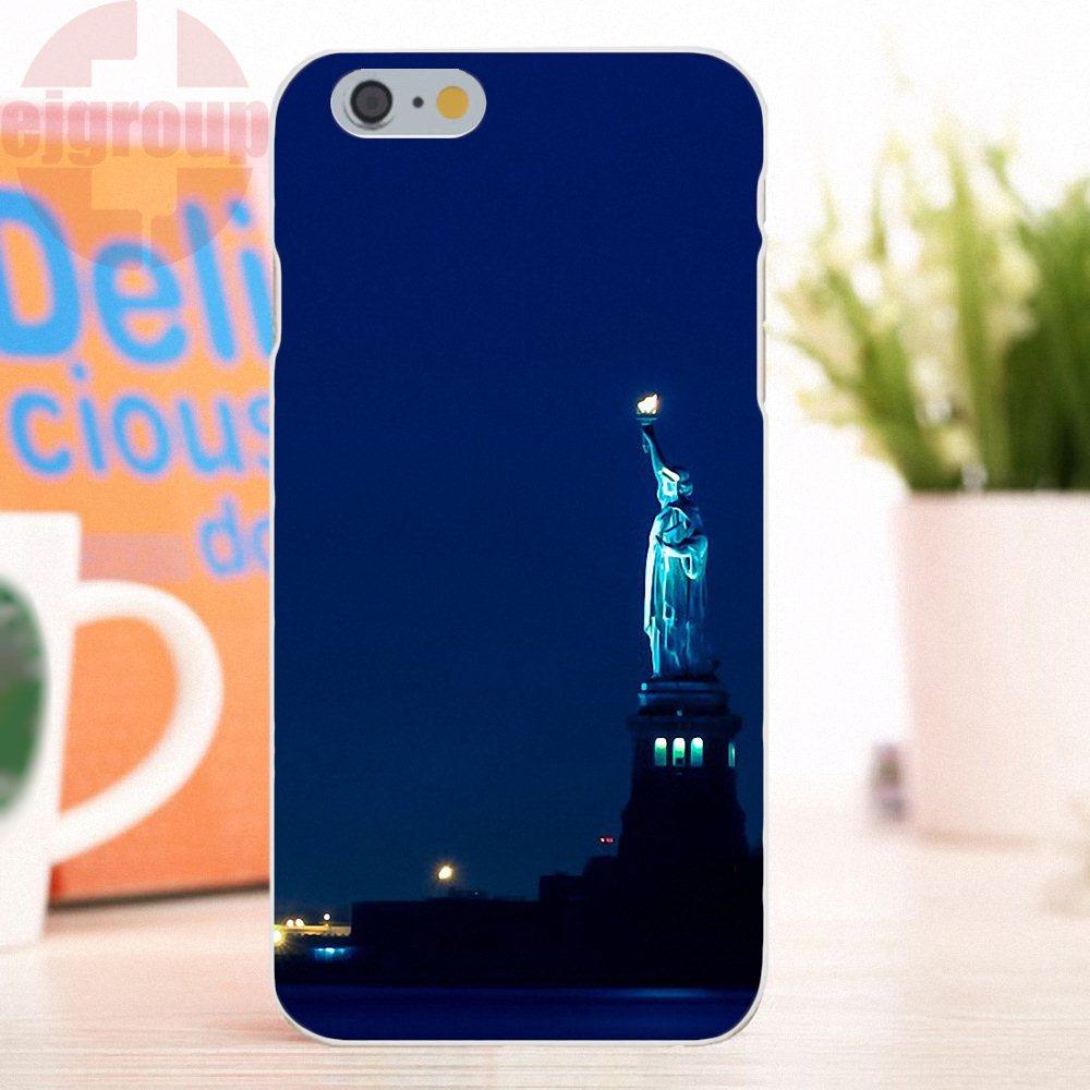 EJGROUP для Apple iPhone 4 4S 5 5S 5C SE 6 6 S 7 8 X плюс Мягкие силиконовые ТПУ прозрачный телефон Обложки чехол Книги по искусству я он Книги по искусству Нью-Й...