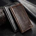Para sony xperia z3 compact case moda de negócios de luxo de couro da aleta casos de telefone carteira capa para sony xperia z3 compact z3 mini