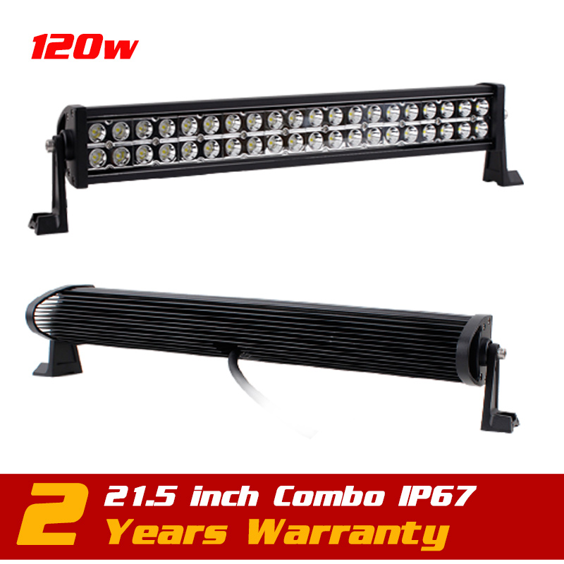 21.5inch 120w Led Work Light Bar IP6712v 24v  for Tractor ATV Offroad Fog LED Worklight Auto External Light Save on 180w 240w 11 60w led work light bar wireless remote with strobe light tractor atv offroad fog light bar external light save on 72w