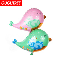 Decorate 66x55cm poink green kingfisher foil balloons wedding event christmas halloween festival birthday party HY-326