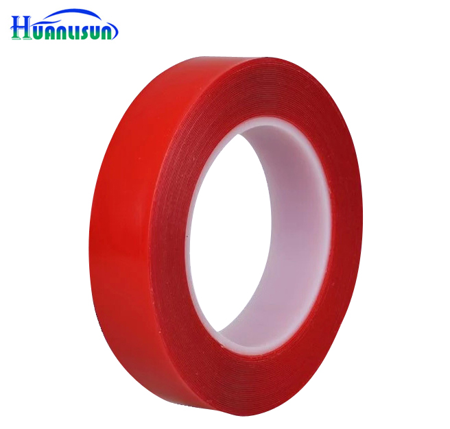 HUANLISUN 3m x 20mm Width Transparent Silicone Double Sided Tape Sticker For Car , High Strength No Traces Adhesive Sticker scotch high strength filament tape 94 x 60yds 89811 dmi rl