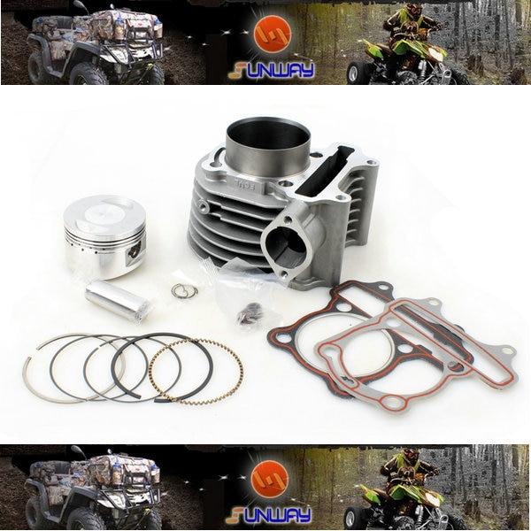 Kit de cylindre de moto 2014 pour moteur GY6 150CC