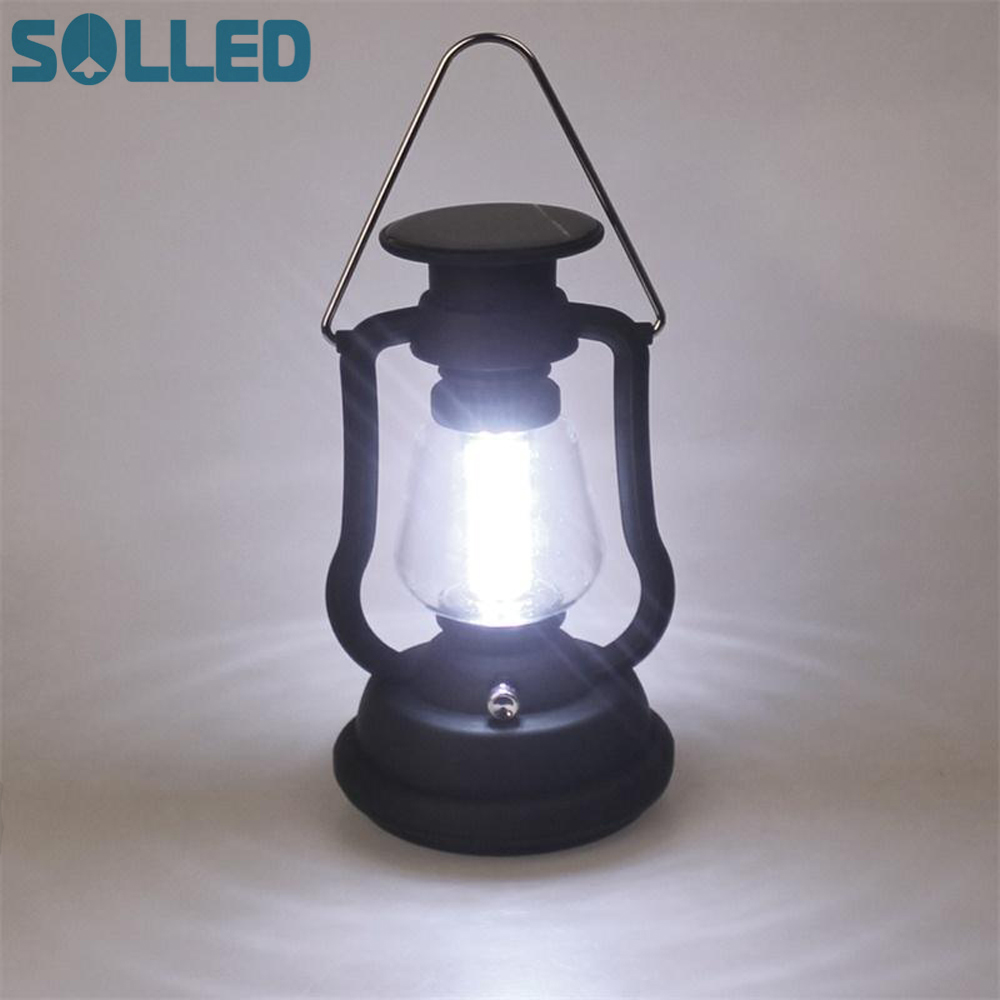 SOLLED High Power 16 LED Camping Light Solar Camping lantern With Solar Panel Hand Crank Outdoor Portable Lamp For Hiking цена