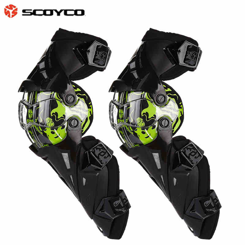 Scoyco K12 Motorcycle Kneepad Motocross MX Knee Protector Motorbike Motorsports Racing Riding Knee pads Protective Gear