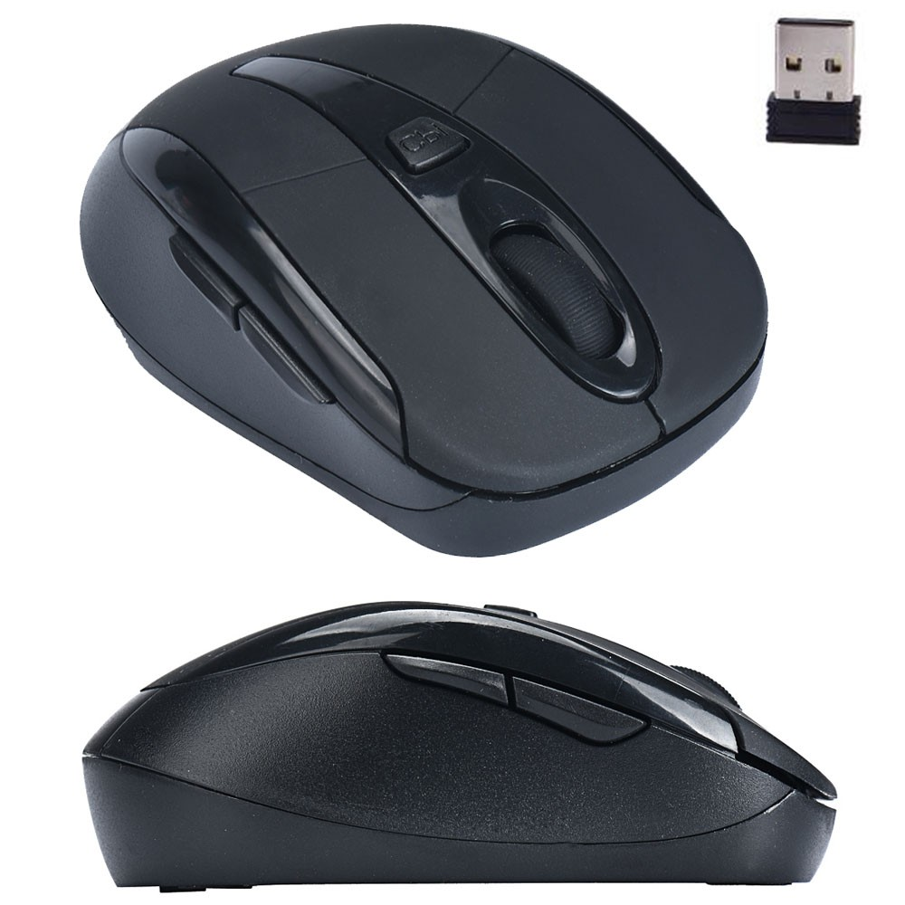 Simple Design Portable 2.4G Wireless Optical Mouse Mice For Computer PC Laptop Professional For Office Limited Promotion