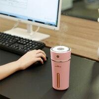 Fimei Portable USB LED Night Light Air Humidifier Mini Aroma Diffuser Aromatherapy Mist Maker Creative Bottle