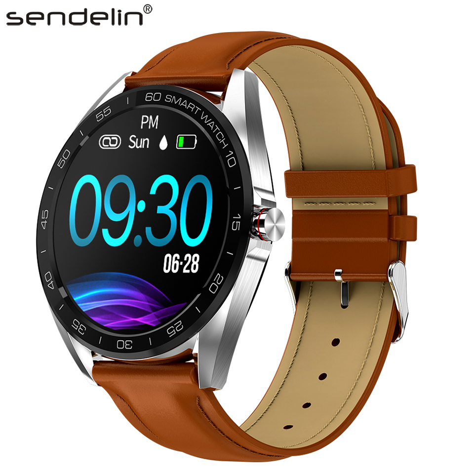Smartwatch IPS color screen Bluetooth smart bracelet Android multi-language information synchronous push men women fashion watch