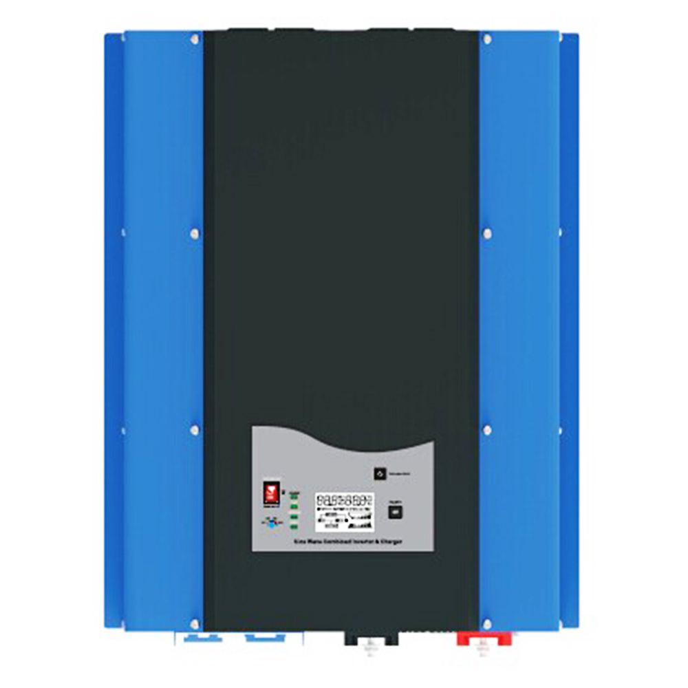 PSW7 8kW 48V 220vac/240vac DC to AC Power Inverter Pure Sine Wave 8000w Off Grid Solar Inverter Built in Battery Charger maylar 22 60vdc 300w dc to ac solar grid tie power inverter output 90 260vac 50hz 60hz
