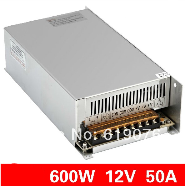 Фотография 600W  12V Single Output Switching power supply for  FSDY  AC to DC led S-600-12