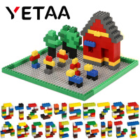 YETAA Bulk Multiple Colors Assorted Mixed Building Bricks Legoed DIY Particles Building Blocks Construction Toys for Children