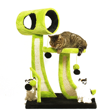 Creative Pet Furniture House for Cats Tree Climbing Sisal Cat Scratching Post Tree Tower Clawing Toy Cat Shelf Jumping Platform-in Furniture & Scratchers from Home & Garden on Aliexpress.com | Alibaba Group