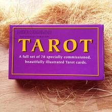 78 Cards Set Waite Tarot Cards, Special Commissioned Tarot Decks Creative Paper Cartas Del Tarot(China)