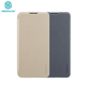 Image 1 - Sólo negro Huawei Honor 10 Lite 6,21 Original Nillkin Sparkle plástico cuero en Honor10 Lite Flip Cover Fundas de teléfono