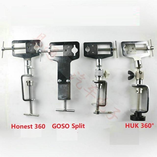 HUK GOSO practice clamp 360 rotation practice clip locksmith lock fixture Tool
