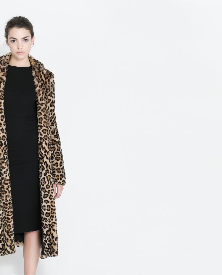 Al Celebridad Nuevo Mujeres Por De Abrigos Sexy Piel Leop Mayor Vacaciones Moda Fur Club Vintage Estilo Navidad Coat Faux araxwqvp