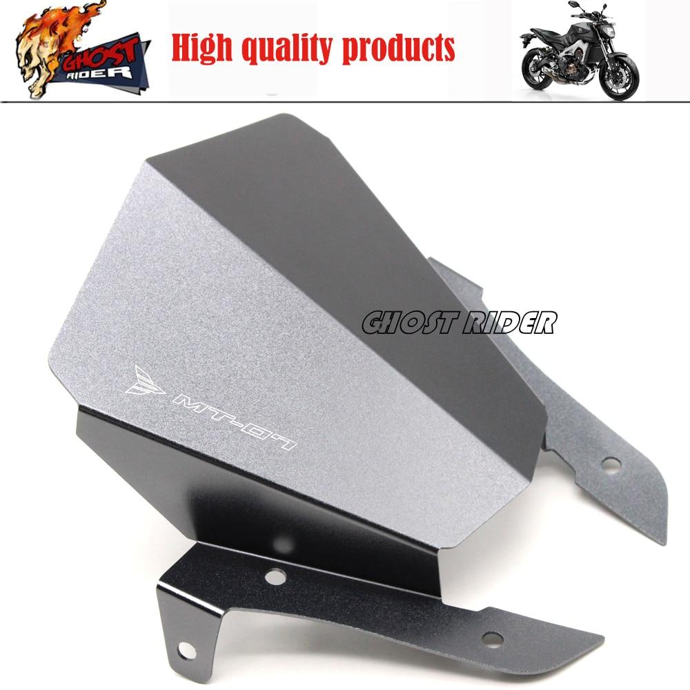 Новый Алюминиевый Мотоциклов Мотоцикл Лобовое Стекло Лобовое стекло подходит Для Yamaha MT07 MT-07 2013 2014 2015 Titanium