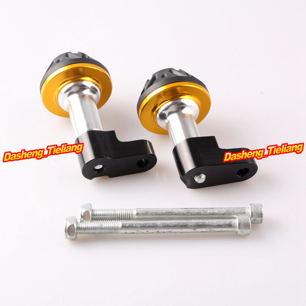 CNC Aluminum Alloy Stator Cover Slider Frame Protector Crash For Honda CB1300 2003 2004 2005 2006 2007 2008 Gold for honda 2002 2003 cbr 954rr cnc stator cover slider frame protector crash 02 03 orange