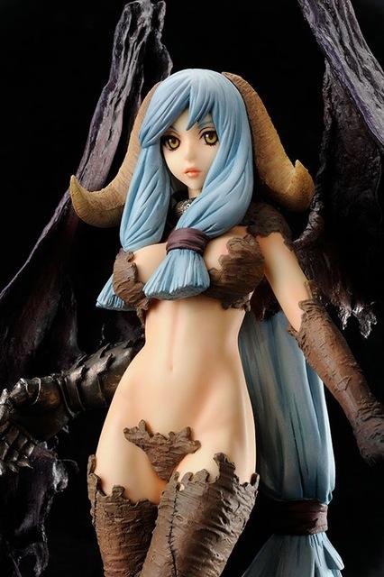 28cm EMBRACE JAPAN Sexy Diabolus Unglate Devil Action Figures Anime PVC brinquedos Collection Model toys Free shipping