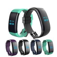 Hiwego DF30 Смарт-часы браслет Bluetooth 4.0 сердечного ритма крови Давление Кислорода Монитор браслет IP68 Водонепроницаемый SmartBand