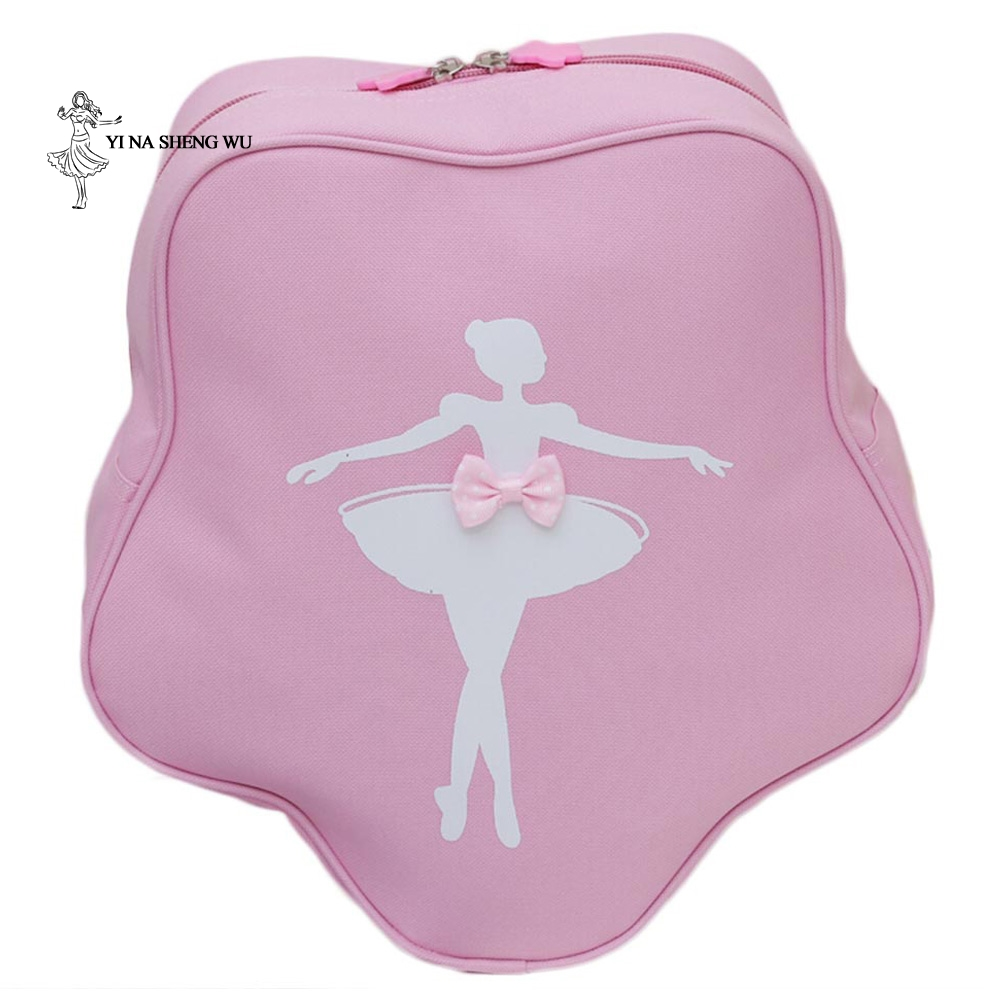Ballet Dance Bag Children Dance Bag Girls Princess Cute Ballet Dance Pink Backpack Care Package With Bow-knot New Fashion
