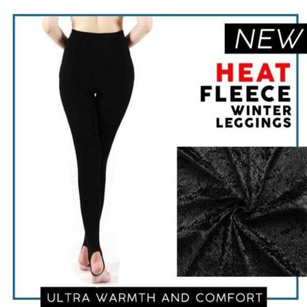 leggings   warm women Heat Fleece Winter Stretchy   Leggings   Warm Fleece Lined Slim Thermal Pants   leggings   mujer shein plus size