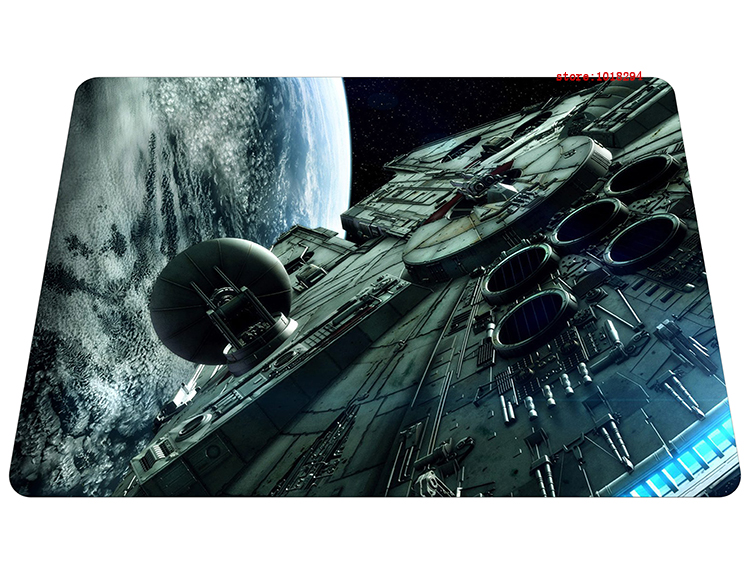 Star Wars mouse pad Spacecraft gaming mousepad Beautiful gamer mouse mat pad game computer desk padmouse keyboard play mats