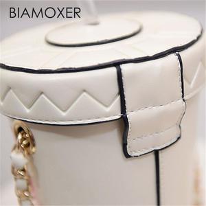 Image 4 - Biamoxer Women Cup Mini Small Crossbody Shoulder Chain Bucket Bag Tote Handbag Purse For Lolita Cosplay