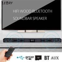 60W WIreless Bluetooth Soundbar Speaker 4 Horn HIFI Sound Bar Virtual Surround Sound Full Range Speaker