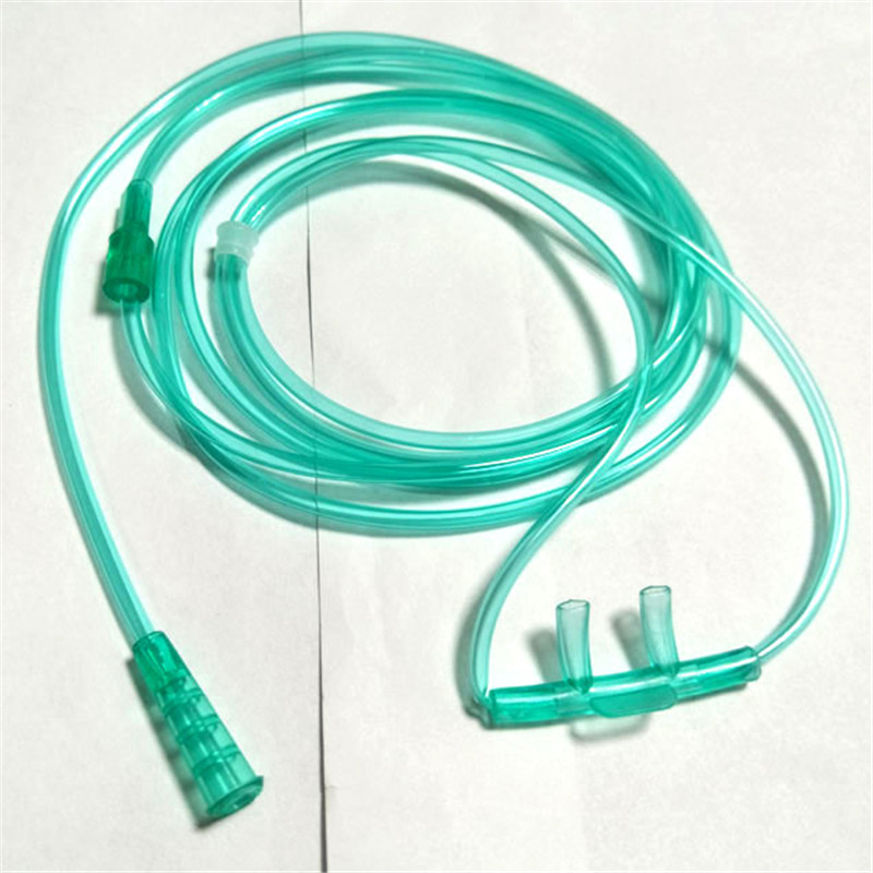 50pcs/set Nasal Oxygen Cannula 156mm Disposable soft Double Nasal Straw Type Home Oxygen Suction Tube for Yuwell Inhaler Machine medical oxygen bag home use oxygen bag 42l capacity portable oxygen bag with one nasal tube