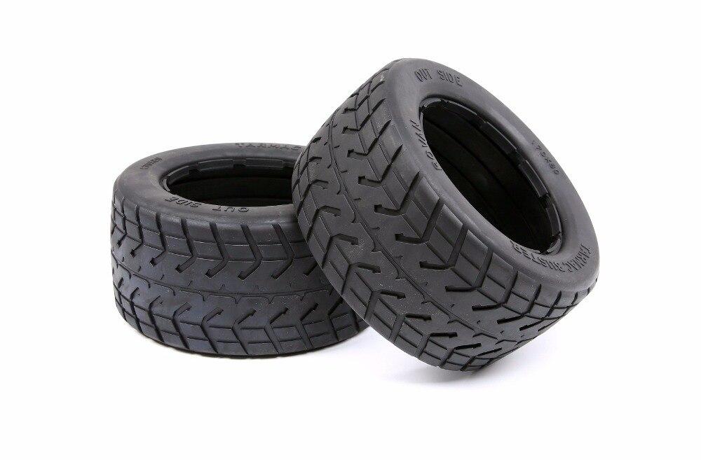 Road tires thicker Tarmac Buster rear tires FOR 1/5 HPI rovan kingmotor BAJA 5B SS rc car partsRoad tires thicker Tarmac Buster rear tires FOR 1/5 HPI rovan kingmotor BAJA 5B SS rc car parts