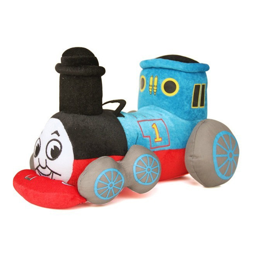 9.8'' 25cm Kawaii Blue Tank Train Thomas & Friends Cute Stuffed Plush Toy Doll for Baby Girl Boy Birthday Gift Brinquedo 5 styles how to train your dragon 2 toothless monstrous nightmare gronckle deadly nadder doll plush stuffed toy