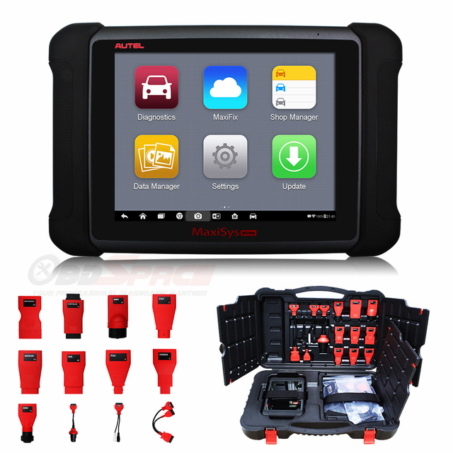 Autel MaxiSYS MS906 Scanner Autel Maxidas DS708 Update Version Free Update Car Diagnostic Scanner Auto Tools DHL Free