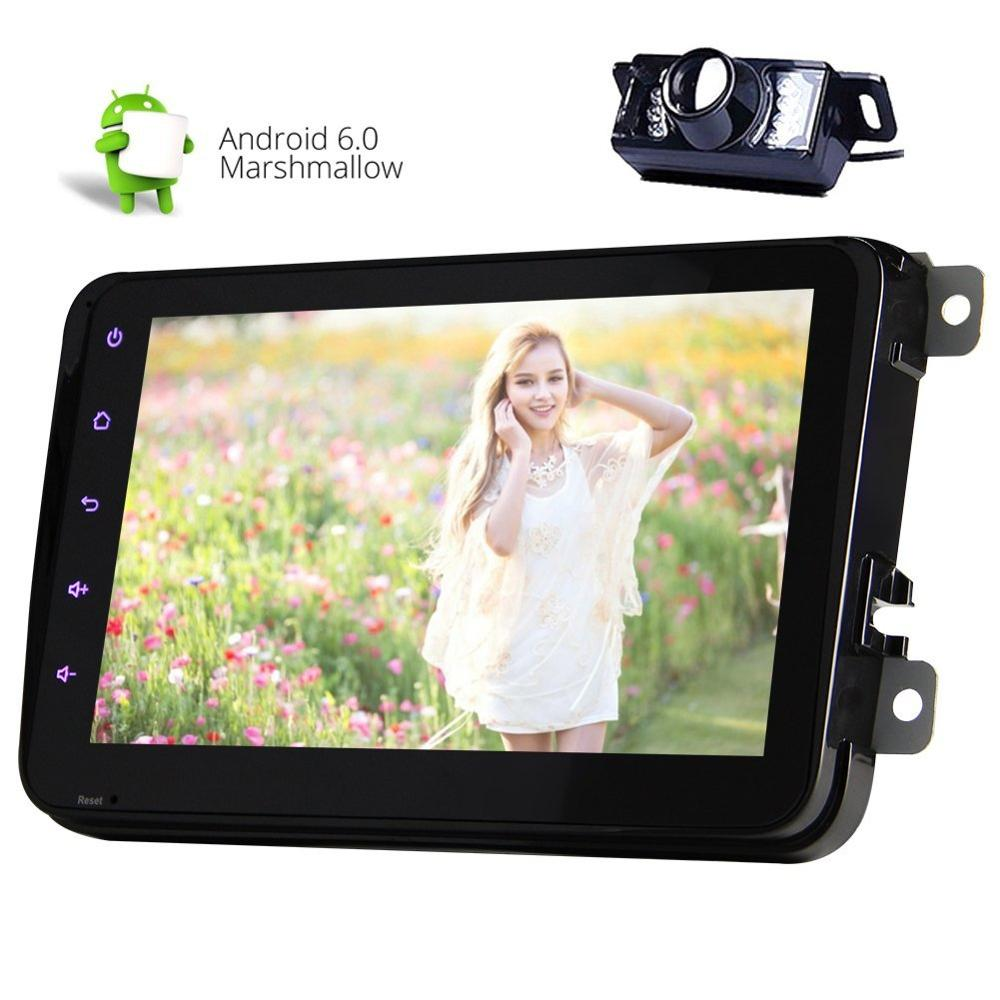 Android 6.0 Car no-DVD player for VW Tiguan Polo Golf Passat Jetta Transporter T5 CC Candy Radio wifi supports 3G/4G Gps video