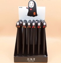 36pcs/lot Creative Japanese Cartoon Slender Man Gel Pen Roller Gift Prize Office