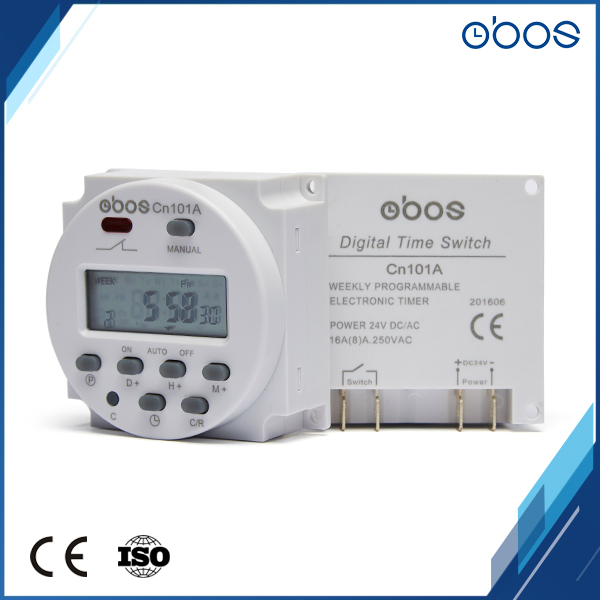 new arrival 24vdc free shipping built in battery digital time switch