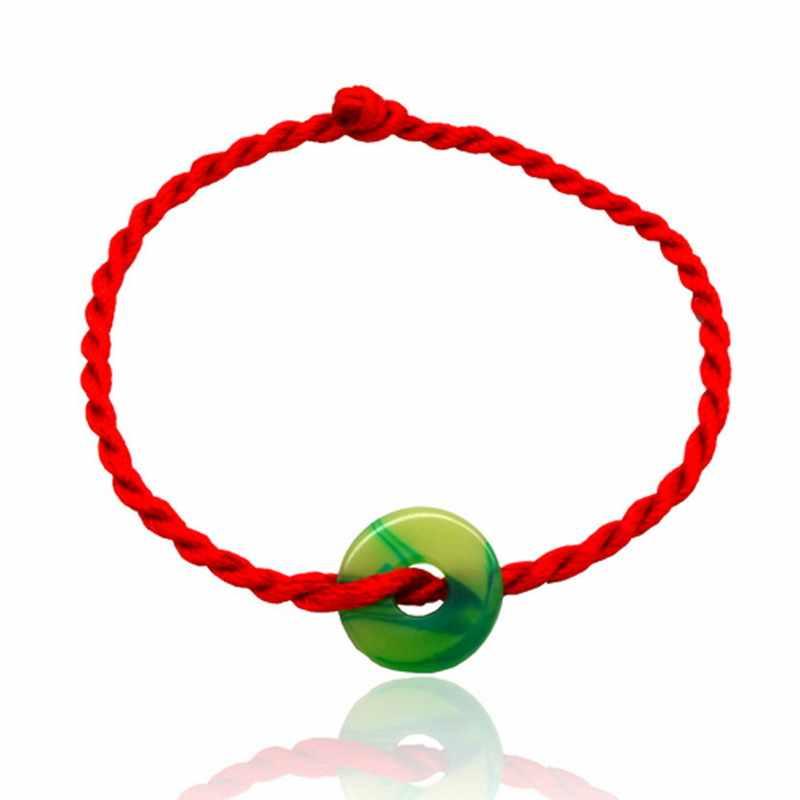 Лидер продаж, 2 шт./партия, модный браслет с красной нитью, счастливый красный браслет из веревки ручной работы для женщин и мужчин, ювелирные изделия для влюбленных, пара мужчин