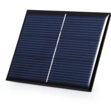 0,65 W 1,5 V 430Ma мини солнечная ячейка поликристаллическая солнечная панель DIY Солнечная система зарядного устройства с кабелем 15 см 60*80 мм