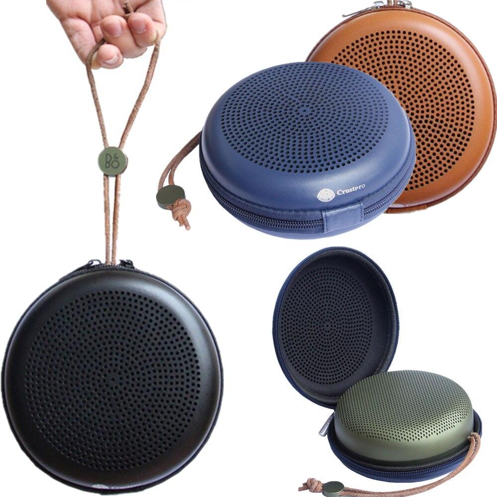 imágenes para PU EVA estuche rígido para B & O Bang & O-cuello lufsen BeoPlay BO A1 Portátil Bluetooth Altavoz Portátil Bolsa de Transporte de viaje Holder Bolsa de La Cremallera